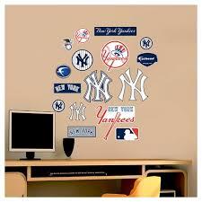 Decorative Wall Art Set Fathead 40 X 3 X 3 New York Yankees Target