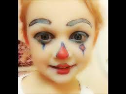 simple clown makeup makeup