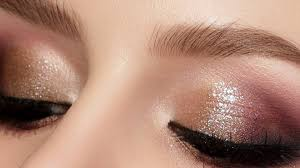 sparkly eyes makeup tutorial you can do