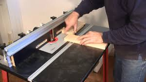 Setting Up And Using A Router Table A Woodworkweb Com Woodworking Video Youtube