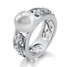 pearl plumeria ring alamea hawaii