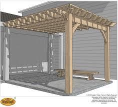 how to easily build a diy patio cover