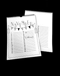 Welkom Handletter Kalender