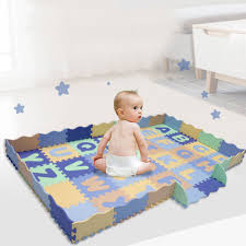 Alphabet Pattern Baby Play Mat With Fence Foam Floor Tiles Crawling Mat For Baby Child Developing Mat For Children Game Pad Aliexpress Com Imall Com