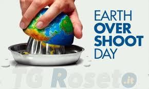 Oggi 22 agosto Overshoot day - TG Roseto