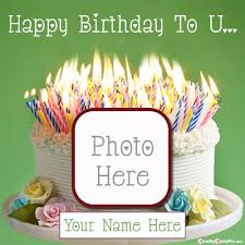 birthday cake wishes images with name