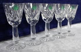 galway irish 25 lead crystal stemware