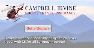 travel insurance ke adventure travel