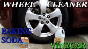 wheel cleaner using baking soda