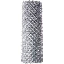 Amazon Com Aleko Clf125g5x50 Chain Link Mesh Roll For Diy Fence System Galvanized Steel For Home Business Agriculture 5 X 50 Feet Silver Garden Outdoor