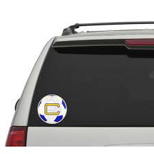 Crusaders C Logo Soccer Car Decal