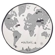 Buy Welinks Baby Crawling Mats World Map Design Kids Play Mat Kids Rug Playmat Child Game Mats Baby Nursery Round Area Rugs Home Bedroom Living Room Playroom Floor Decoration Carpet Blanket Mats