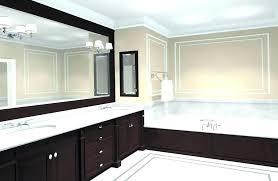 beautiful bathroom mirrors frame wall