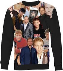 Brian Littrell Backstreet Boys Collage Sweater Sweatshirt - Subliworks