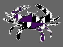 Raven Zone Baltimore S 1 Fanshop For Officially Licensed Baltimore Ravens And Orioles T Shirts Apparel Merchandise And Much More Maryland Crab Vinyl Decals Stickers Many Colors Orioles Ravens Colors Raven Zone Sports