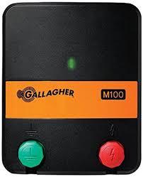 Amazon Com Gallagher G330414 M100 Wrangler Fencer 110 Volt Agricultural Fencing Garden Outdoor