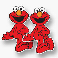 Motors Elmo Sticker Vinyl Decal Car Window Red Happy Sesame Street Dancing Window Wall Car Truck Graphics Decals