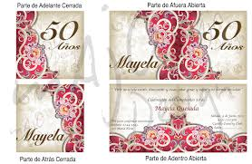 Invitaciones Cumpleanos 50 Anos Para Pantalla Hd 2 Fondosmovil Net