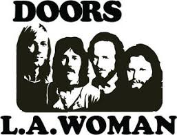 The Doors L A Woman Vinyl Decal Car Bumper Sticker Jim Morrison Ray Manzarek Ebay