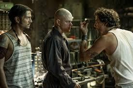 ELYSIUM Review. ELYSIUM Stars Matt Damon, Jodie Foster, and Sharlto Copley