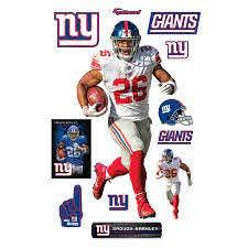 Fathead Saquon Barkley New York Giants Away 12 Pack Life Size Removable Wall Decal