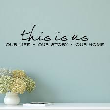 This Is Our Life Story Home Wall Quotes Decal Wallquotes Com