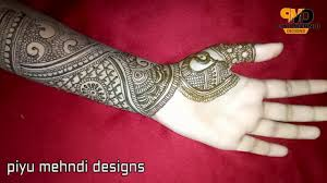 mehndi designs front full hand