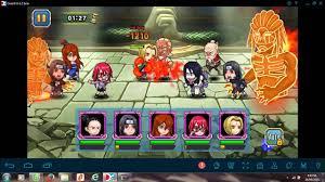 Cách xếp đội hình Naruto đại chiến mobile - YouTube