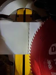 6 Month Old Dewalt Miter Saw Out Of Square When Dropped To 45 Dewalt