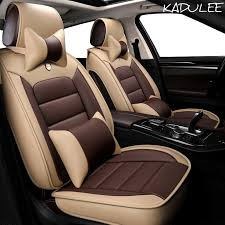 kadulee pu leather car seat cover for