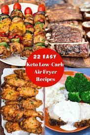 easy keto low carb air fryer recipes