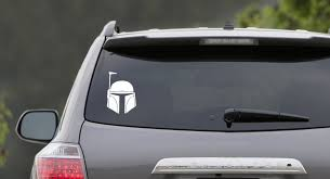 Boba Fett Star Wars Sticker Car Window Vinyl Decal Sticker The Empire Doesn T Care