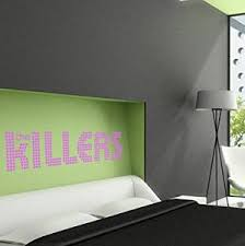 Buy The Killers Band White Logo Vinyl Decal Sticker In Cheap Price On Alibaba Com
