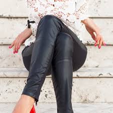 we found the best faux leather leggings