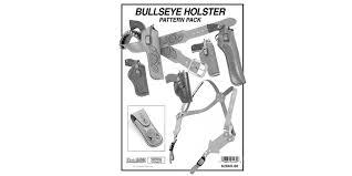 bullseye holster pattern pack tandy