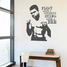 Best Offer 2dfac0 Muhammad Ali Boxing Wall Decal Art Decor Home Decor Removable Vinyl Nursery Kids Room Wall Sticker Living Wall Decor My425 Cicig Co