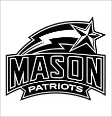 George Mason Patriots Decal North 49 Decals