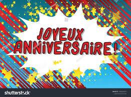Vector De Stock Libre De Regalias Sobre Aniversario De Joyeux