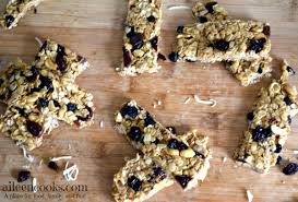 chewy no bake granola bars aileen cooks