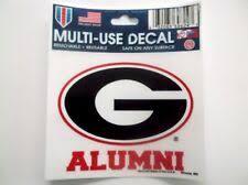 University Of Georgia Strip Vinyl Decal Car Truck Window Sticker Uga Bulldogs College Ncaa Fan Apparel Souvenirs Sports Mem Cards Fan Shop Fan Apparel Souvenirs