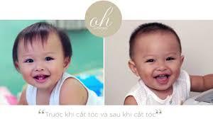 CÁCH CẮT TÓC BÉ 12 THÁNG TUỔI   HOW TO HAIRCUT BABY - YouTube