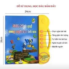 Sách Nói Điện Tử Song Ngữ Anh-Việt Cho Trẻ Em - Home