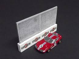 1 64 Ho Slot Car Layout Wall Fence Set Kit By Fch Full Circle Hobbies