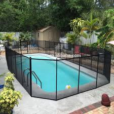 Cheap Invisible Temporary Vinyl Fence Children S Barrier Safety Swimming Pool Fence Buy Temporary Swimming Pool Fence Cheap Vinyl Pool Fence Invisible Pool Fencing Product On Alibaba Com