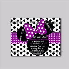 14 Unids Lote De Invitaciones De Cumpleanos De Minnie Mouse