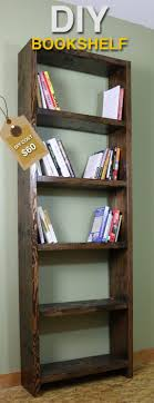 diy bookshelf ideas with plans