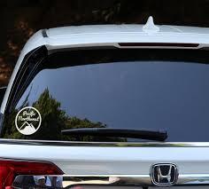 Pacific Northwest Vinyl Sticker Car Decal Pacific Rim Pnw Etsy