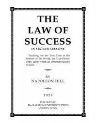 lawsofsuccess napoleonhill