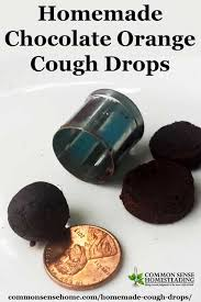 easy homemade cough drops for treatment