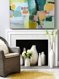 4 ideas for fireplace decorating with